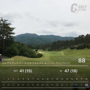 6月5日 6週連続ゴルフ第2回目