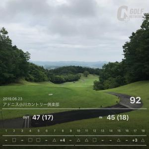 6月23日 8週連続ゴルフ第5回目 串吟コンペ