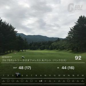 7月11日 8週連続ゴルフ第7回目