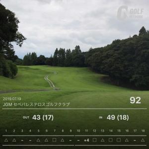 7月19日 8週連続ゴルフ第10回目