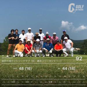 8月1日 1泊ゴルフ1日目
