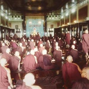 ミャンマーで瞑想体験?