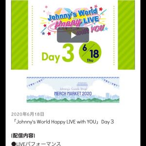 Johnnys World Happy LIVE withYou♡
