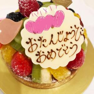 娘のお誕生日ケーキとティファニー♡