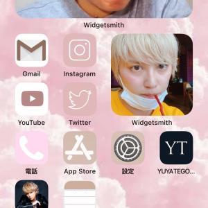 iPhoneのホーム画面*カスタマイズ♡