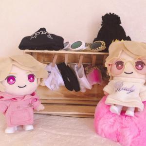 ピンクなパーカー♡