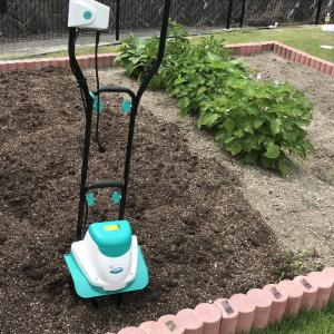 家庭菜園におすすめのミニ耕運機(電動耕うん機)なら菜援くん800WGCV-110!実際に使った使用感をレビュー
