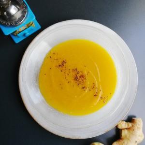 冷たくても、あったかくても美味しいかぼちゃのスープ