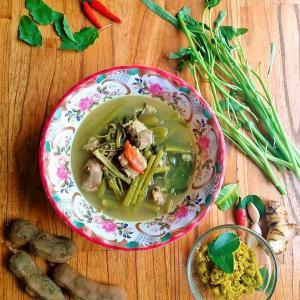 カンボジアのスープいろいろ
