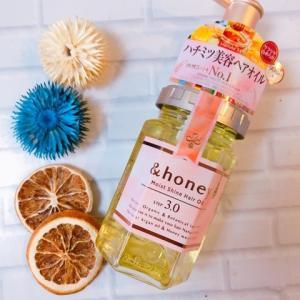 &honey  モイストシャイン ヘアオイル3.0