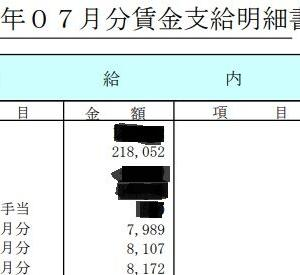 8千円昇給しました