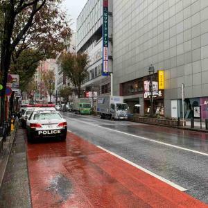 今日は撮影の仕事で渋谷へ