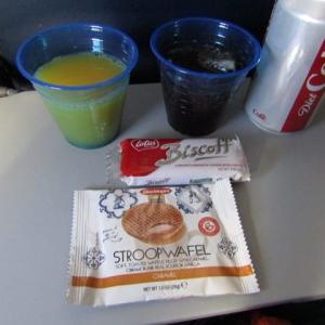 2020年1月 ユナイテッド航空機内食(ニューヨークーセントマーチンーニューヨーク)