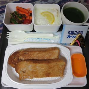 なんちゃって機内食「機内食チャレンジ_120」くるみトースト2