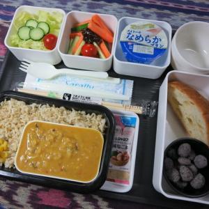 なんちゃって機内食「機内食チャレンジ_123」ひよこ豆のカレー