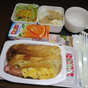 なんちゃって機内食「機内食チャレンジ_124」チーズトースト2