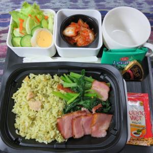 なんちゃって機内食「機内食チャレンジ_143」パクチーチャーハン