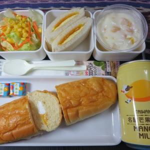 なんちゃって機内食「機内食チャレンジ_145」マンゴー三昧2