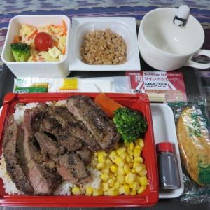 なんちゃって機内食「機内食チャレンジ_154」いきなり!ステーキ