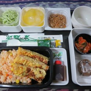 なんちゃって機内食「機内食チャレンジ_175」鮭とコーンの炊き込みご飯
