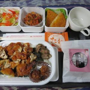 なんちゃって機内食「機内食チャレンジ_199」ほっかほっか弁当