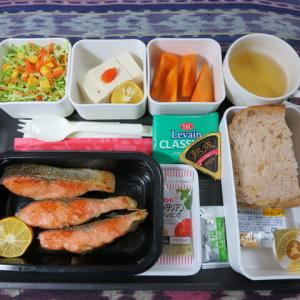 なんちゃって機内食「機内食チャレンジ_254」サケのムニエル