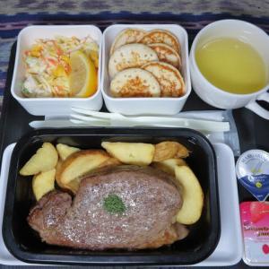 なんちゃって機内食「機内食チャレンジ_257」ビーフステーキ3