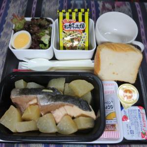 なんちゃって機内食「機内食チャレンジ_303」ブリ大根