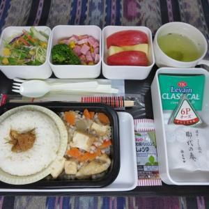 なんちゃって機内食「機内食チャレンジ_304」そば米汁