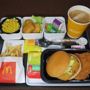 なんちゃって機内食「機内食チャレンジ_337」マクドナルド16