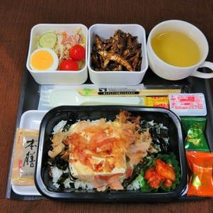 なんちゃって機内食「機内食チャレンジ_443」豆腐丼