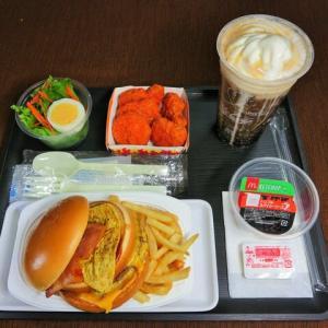 なんちゃって機内食「機内食チャレンジ_447」マクドナルド21
