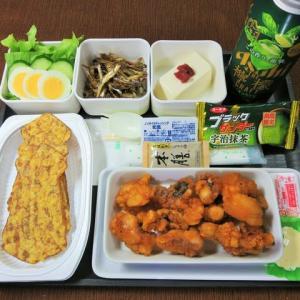 なんちゃって機内食「機内食チャレンジ_466」タコvsイカ