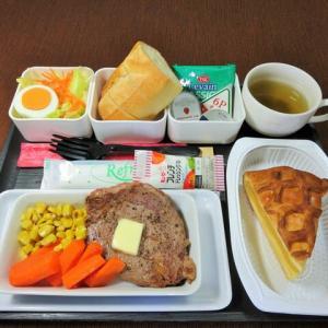 なんちゃって機内食「機内食チャレンジ_469」ビーフステーキ6