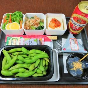 なんちゃって機内食「機内食チャレンジ_472」枝豆