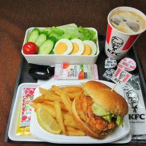 なんちゃって機内食「機内食チャレンジ_479」ケンタッキーフライドチキン14