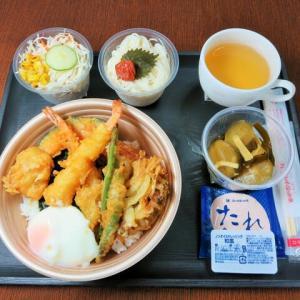 なんちゃって機内食「機内食チャレンジ_520」ほっかほっか亭6(月見バージョン)