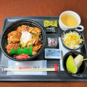 なんちゃって機内食「機内食チャレンジ_521」ほっともっと5(月見バージョン)