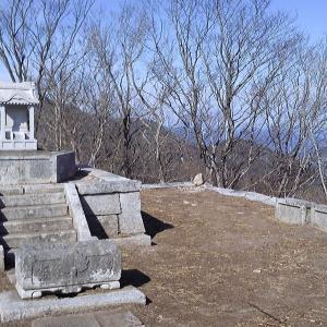 絶景の足尾山頂と醍醐天皇について 加波山・足尾山(後編)