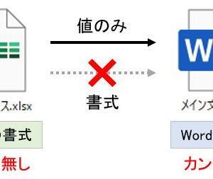 【Word】差し込み印刷のカンマ、桁数、日付時刻、パーセントの表示形式の設定と変更
