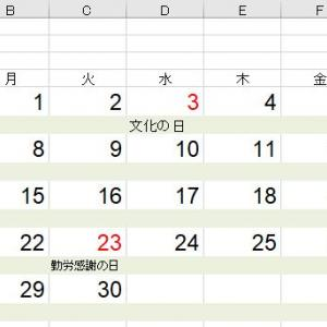 【Excel関数】祝日、休日、長期休業日の日付の色を変えるのは簡単ではない