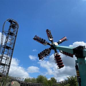 ロンドンから一番近い絶叫系遊園地ソープパーク(Thrope Park)の攻略情報