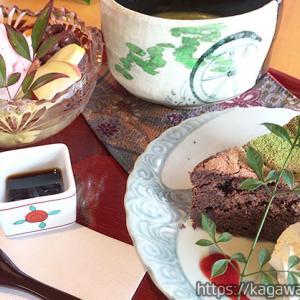 古家 丸亀飯山 / 人気の古民家カフェ!ランチや白玉パフェやケーキ…和風で映えます!