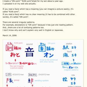 音読みと訓読み 漢字