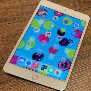 iPad mini 4 復活!大切に使います♪