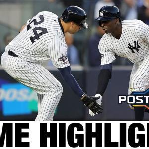【ALDS2019-Gm2】ヤンキースがCSへ王手!ディディにGS、田中投手、5回1失点で好投