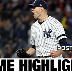 ヤンキースが踏みとどまる!バーランダーからHR攻勢でALCS 2勝目!