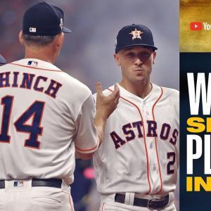 【MLB2019】ワールドシリーズのロスター発表とアストロズのアシスタントGMの発言の物議