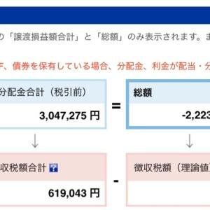 なぬ今年の通算損益 527万円のマイナス❗