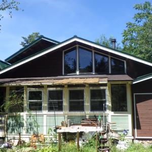 屋根と外壁の塗装工事♪ 原村